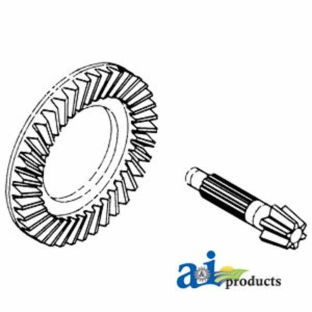 medium resolution of details about 528707r1 ring gear pinion set fits case ih 1066 1086 1206 1256 1456 1466