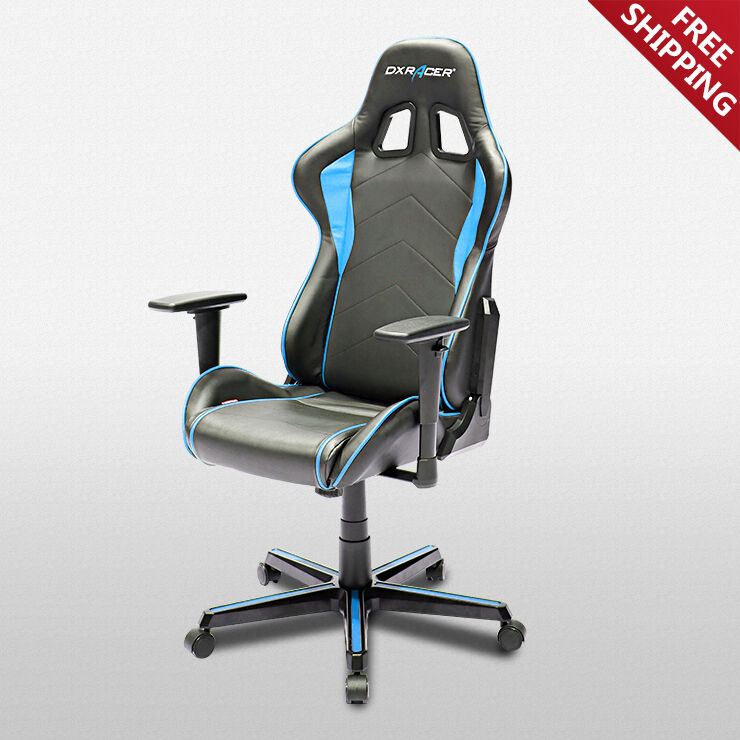 gaming chair ebay designs for drawing room dxracer office chairs oh fh08 nb fnatic racing seats details about computer