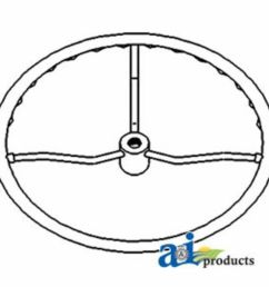 details about d7nn3600a steering wheel 15 fits ford new holland 2310 2600 2610 2810  [ 1000 x 1000 Pixel ]