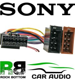 details about sony cdx series car radio stereo 16 pin wiring harness loom iso lead ct21so01 [ 1000 x 1000 Pixel ]