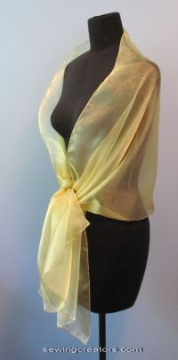 Sheer Gold Evening Wrap Bridal Shawl Formal Prom By ...