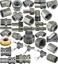 304 Stainless Steel Pipe Fittings Corrosion Resistant ...
