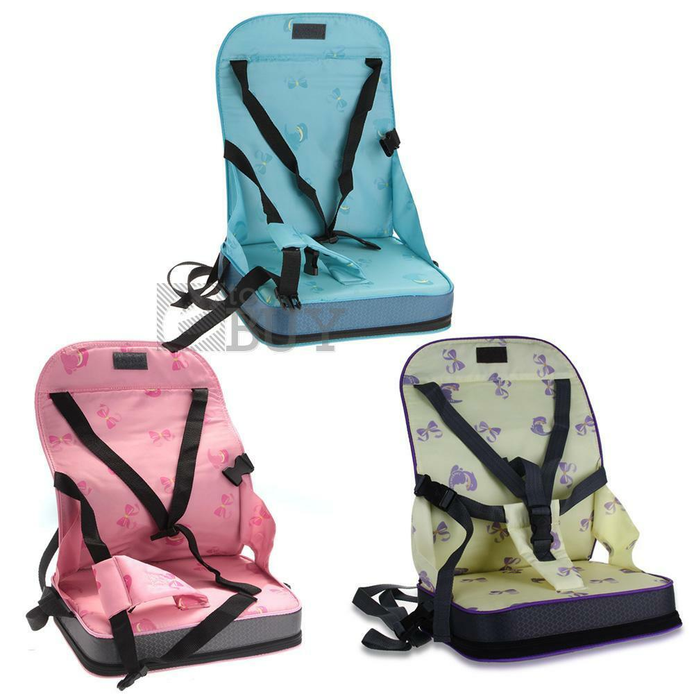 infant feeding chair outdoor hanging egg canada portable baby toddler infants dining booster seat harness safety | ebay