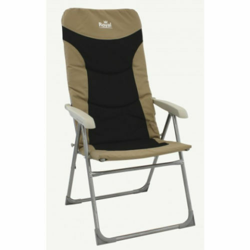 Royal Colonel Camping Chair  Reclining Camping Chair