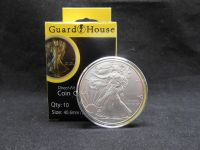 10 Direct Fit Guardhouse Coin Capsule Holders for 1oz ...