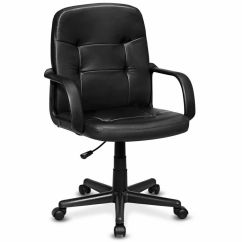 Ergonomic Office Chair Ebay How Much Does A Lift Cost Pu Leather Midback Executive Computer Best Desk Task  