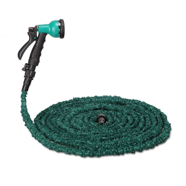 3x Stronger Deluxe 100 Ft Expandable Flexible Garden Water Hose With Spray Nozzle