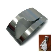 New Stainless Steel Towel Holder Adhesion Wall Mounted ...