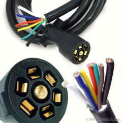 Pollak Trailer Wiring Diagram Phase Of Graphene 7 Way Wire Harness Plug | Get Free Image About