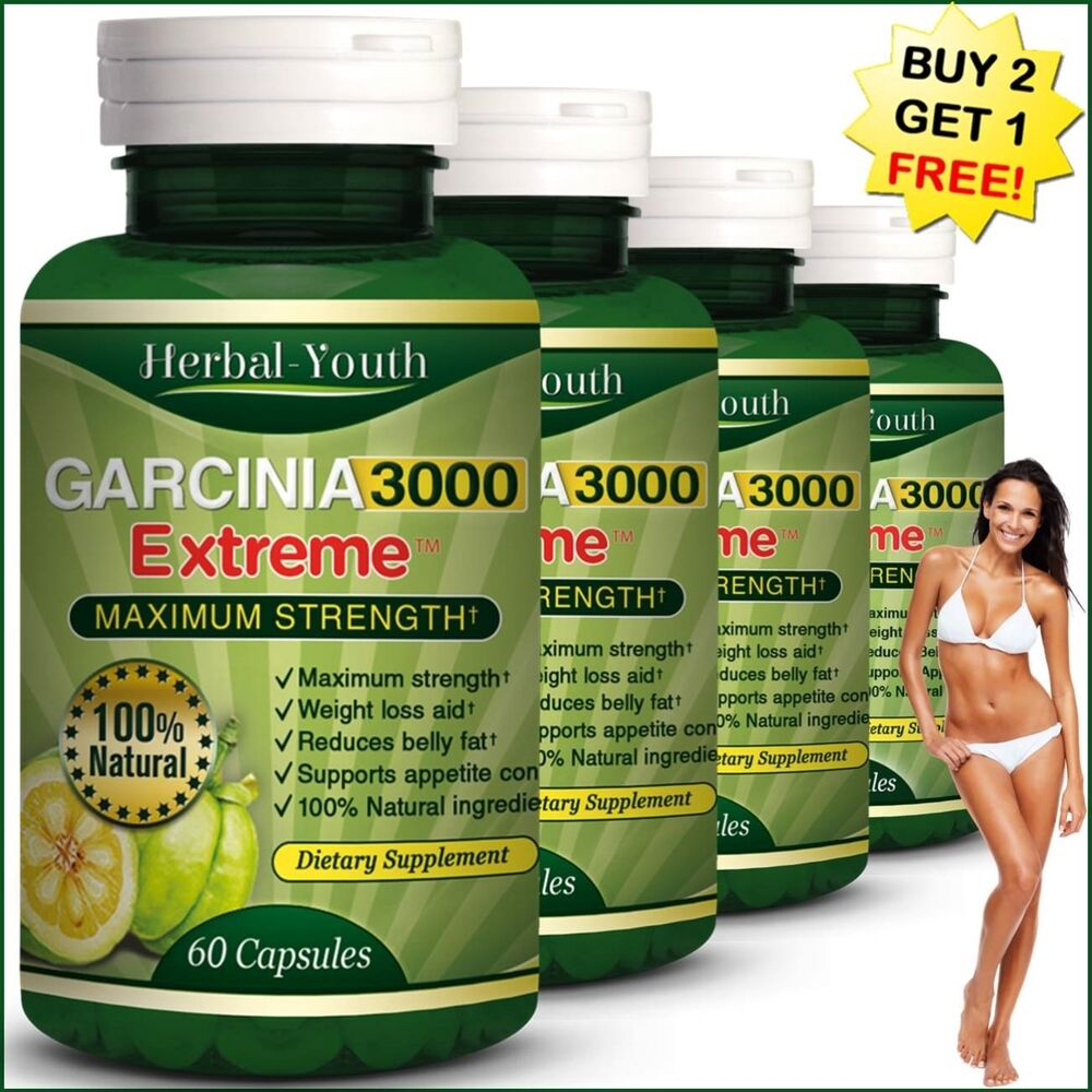 180 garcinia cambogia capsules ultra pure 3000mg daily slimming weight
