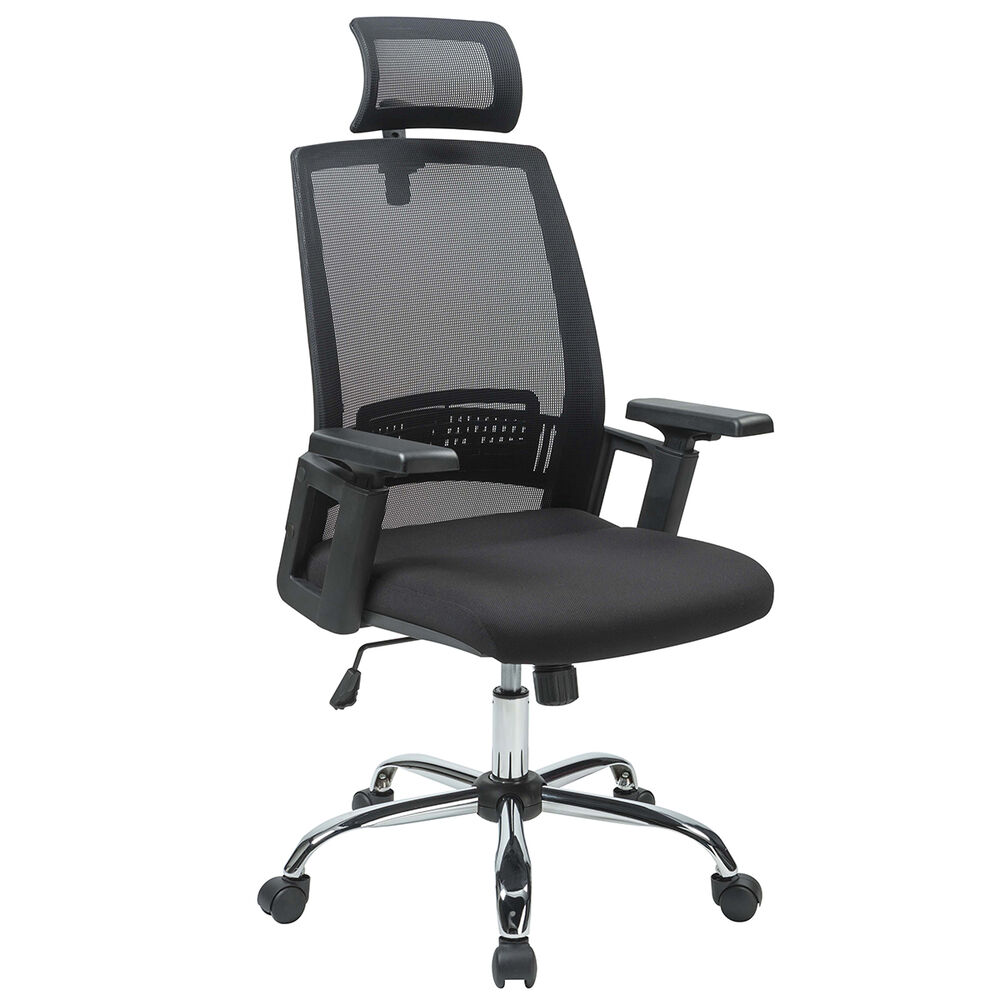 mid back mesh chair folding aluminium new black ergonomic desk task office high executive computer | ebay