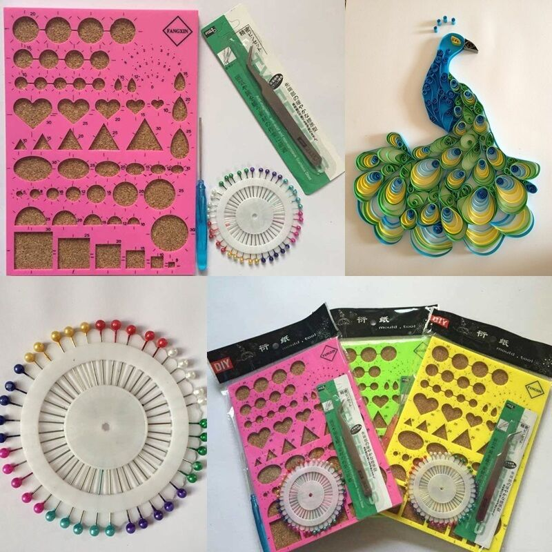 Paper Diy Tool Quilling Kits With Work Board Quilling
