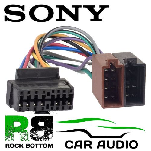 small resolution of details about sony cdx gt260mp car radio stereo 16 pin wiring harness loom iso lead adaptor