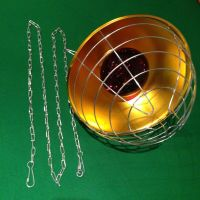 INFRARED BROODING HEAT LAMP +250w BULB + REDUCER SWITCH ...