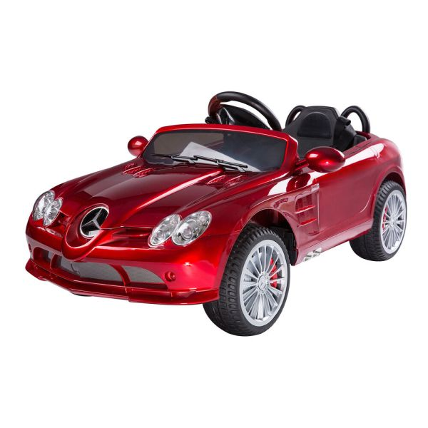 Kids Mercedes-benz Electric Ride Car Power Wheel Withmp3 Remote Control Red