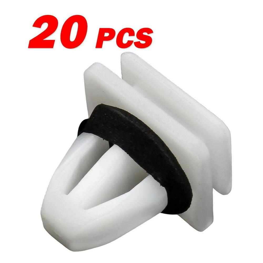 hight resolution of details about 20 panel rocker bumper moulding body skirt clip fastener for honda odyssey