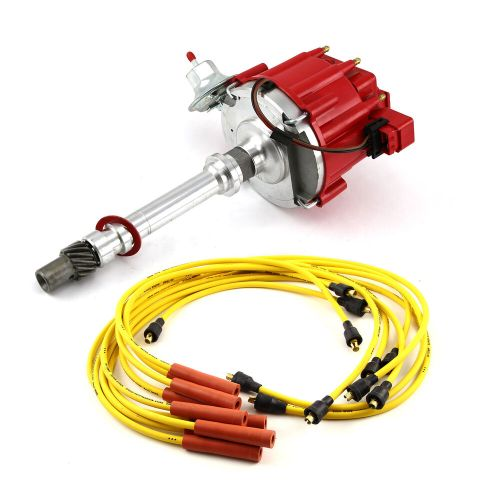 small resolution of chevy sbc 350 bbc 454 hei distributor accel spark plug 5 pin hei module pinout mercruiser 5 7 hei ignition module