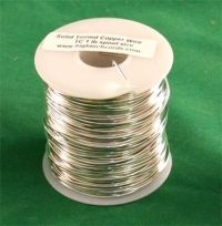 1 lb. 20g Gauge Tinned Wire for Stained Glass Projects   eBay