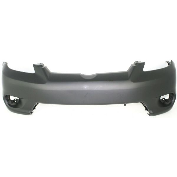 Front Bumper Cover 2005-2008 Toyota Matrix With Fog Lamp Holes Primed