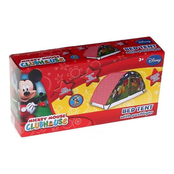 Disney Mickey Mouse Clubhouse Bed Tent & Push Light