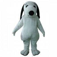 Snoopys white dog character fancy dress Cartoon Mascot ...