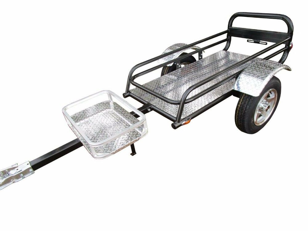 New Pull Behind Motorcycle Trailer Rally Wagon Harley