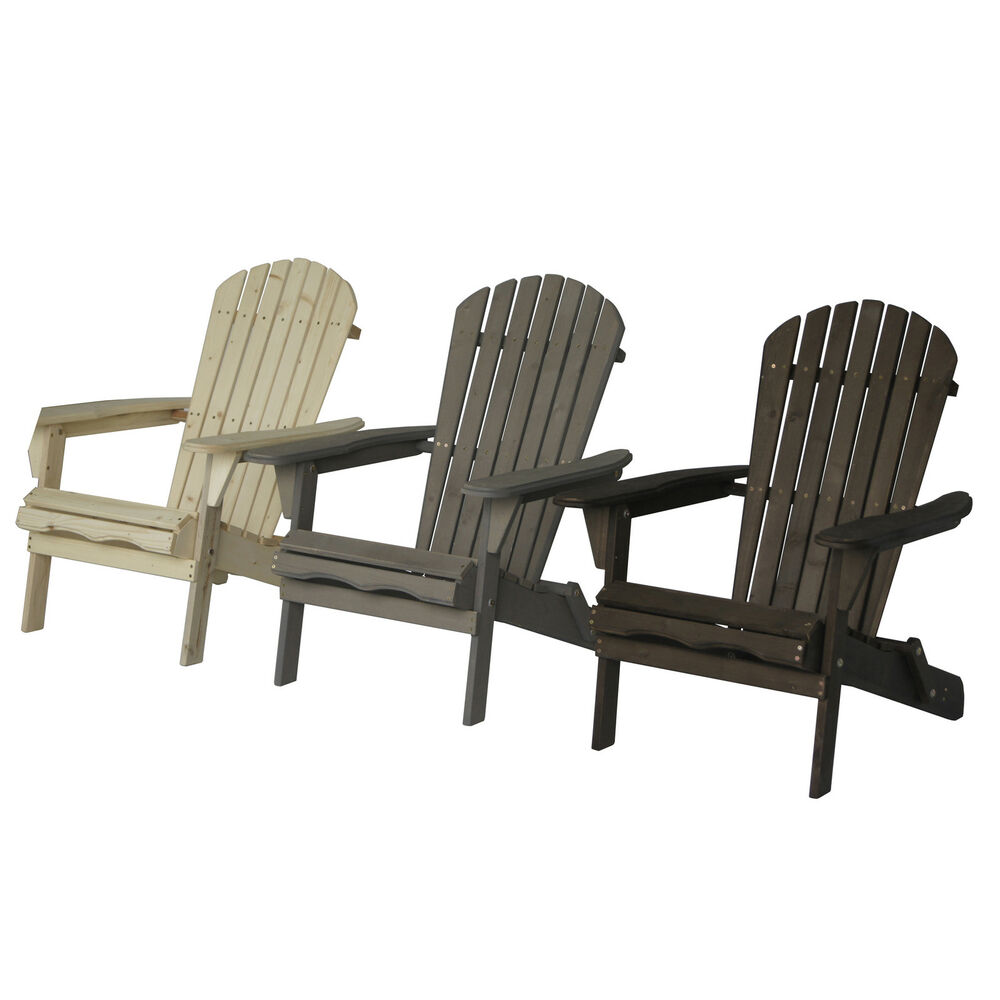 Villeret Folding Adirondack Chair  eBay