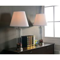 Clear Glass Fillable Table Lamp (Set of 2) | eBay