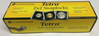 (25) GUARDHOUSE TETRA PLASTIC 2X2 COIN HOLDER SILVER EAGLE