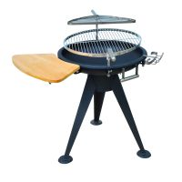 Patio BBQ Grill Cooking Burner Charcoal Fire Pit Brazier ...