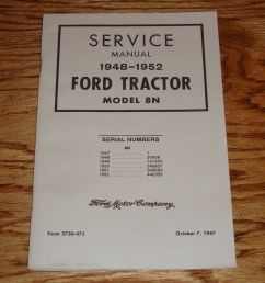 ford 9n 2n 8n tractor workshop service repair manual download first american made production model incorporate harry three point hitch design still most  [ 906 x 1000 Pixel ]