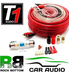 caliber cpk20 1500 watts 4 awg gauge car complete amplifier amp wiring cable kit ebay [ 1000 x 1000 Pixel ]