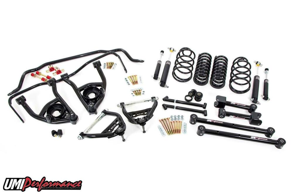 1968-1972 Chevelle UMI Performance Suspension Kit 1