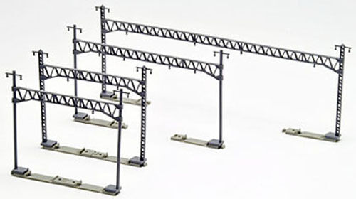 Tomix 3007 Overhead Wire Mast for Double Tracks w/ Truss