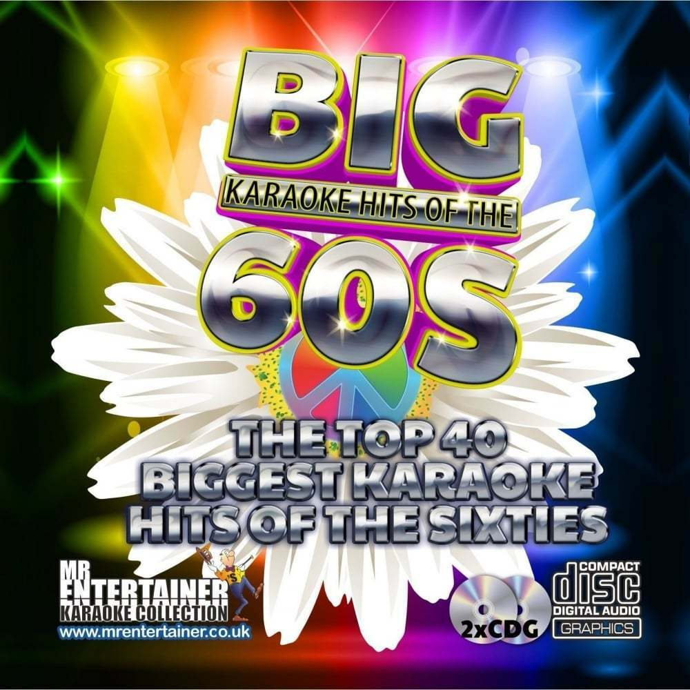 Mr Entertainer Karaoke Cdg  The Big 60's Hits Double