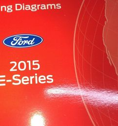 details about 2015 ford e series e150 e250 econoline electrical wiring diagram manual oem [ 1000 x 813 Pixel ]