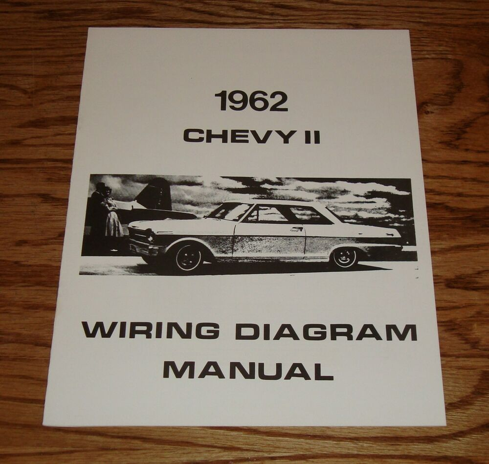 medium resolution of  1964 chevy nova wiring diagram 1962 chevrolet chevy ii nova wiring diagram manual 62