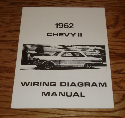 small resolution of  1964 chevy nova wiring diagram 1962 chevrolet chevy ii nova wiring diagram manual 62