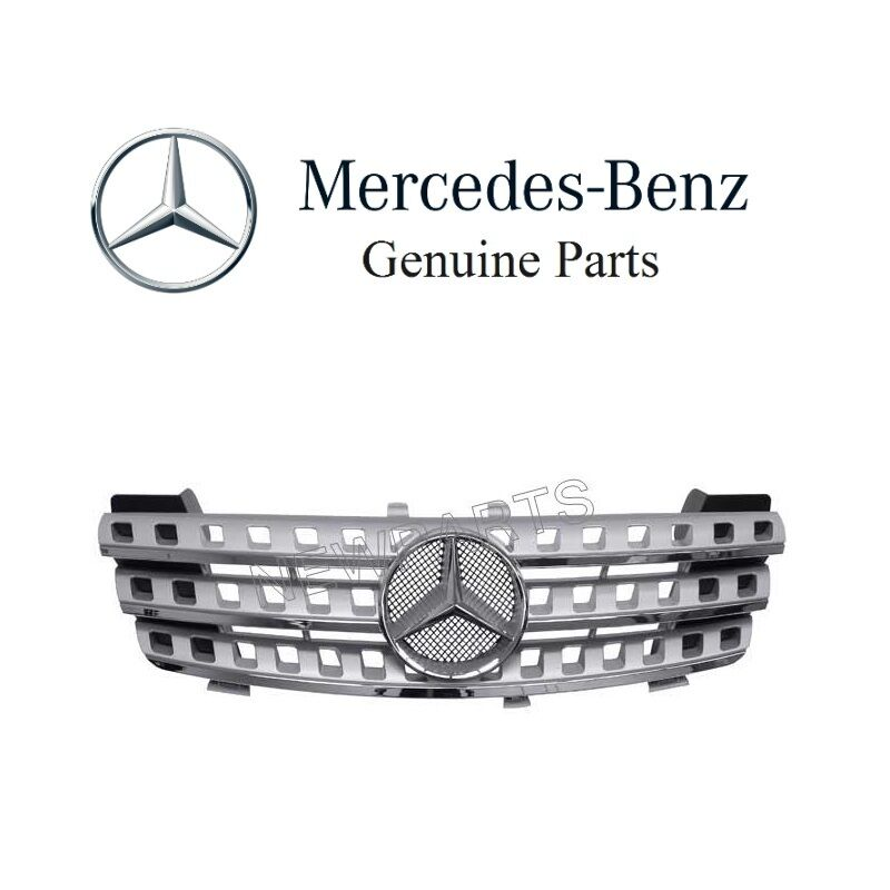 Mercedes W164 ML320 ML350 Front Center Grille Assembly