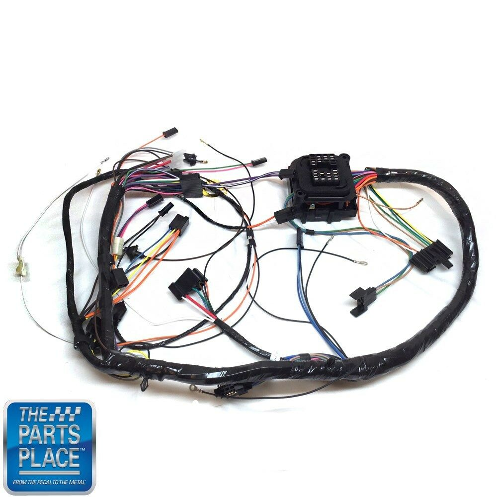 medium resolution of details about 1971 chevelle monte carlo dash harness complete with ss factory gauges