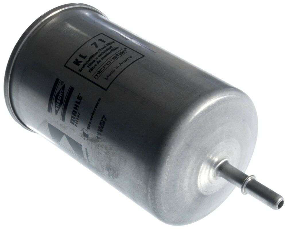 hight resolution of details about for volvo s40 s60 s80 v70 in line fuel filter mahle kl71