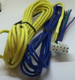 details about kenwood subwoofer amp ksc wd250 wd250t 10 pin power speaker input harness 17ft [ 1000 x 919 Pixel ]