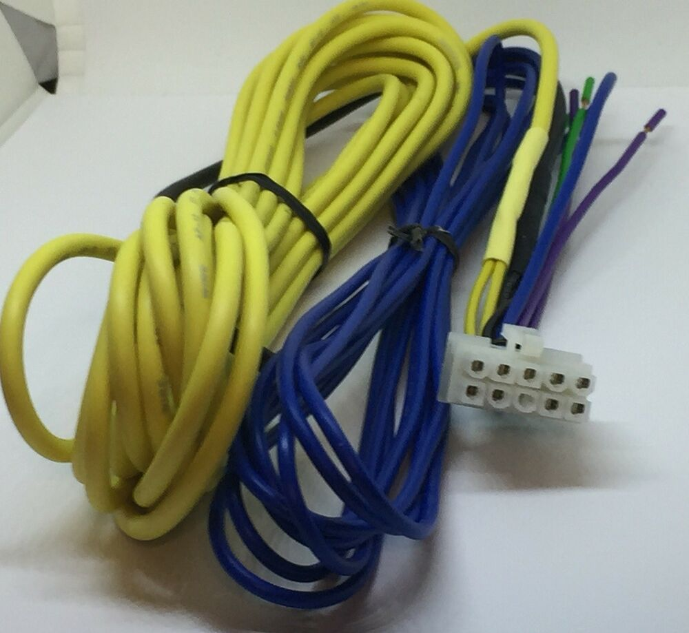 hight resolution of details about kenwood subwoofer amp ksc wd250 wd250t 10 pin power speaker input harness 17ft