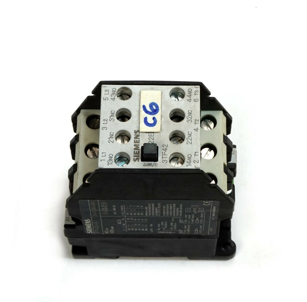 hight resolution of details about siemens 3tf4222 0as0 non reversing contactor 3 phase 30a 600v ac
