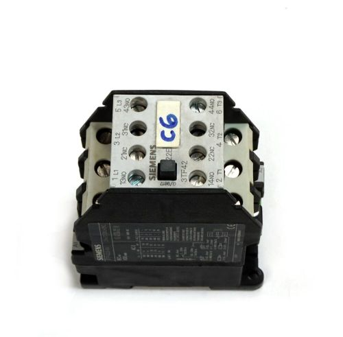small resolution of details about siemens 3tf4222 0as0 non reversing contactor 3 phase 30a 600v ac