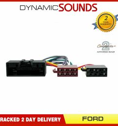 details about ct20fd09 car stereo radio wiring harness iso adaptor lead for ford [ 1000 x 1000 Pixel ]