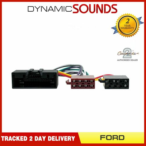 small resolution of details about ct20fd09 car stereo radio wiring harness iso adaptor lead for ford