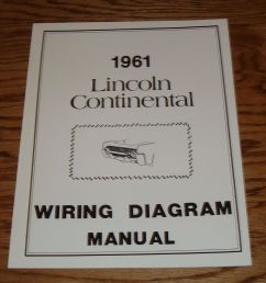 image of 1961 lincoln continental wiring diagram [ 1000 x 949 Pixel ]