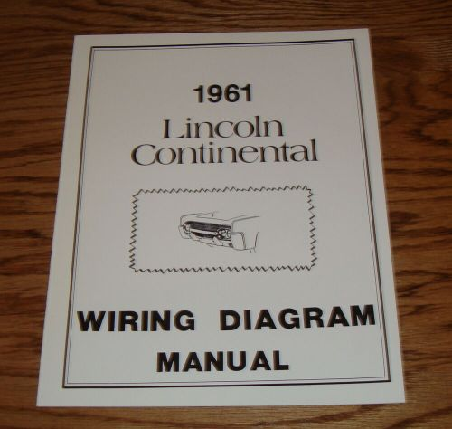 small resolution of image of 1961 lincoln continental wiring diagram