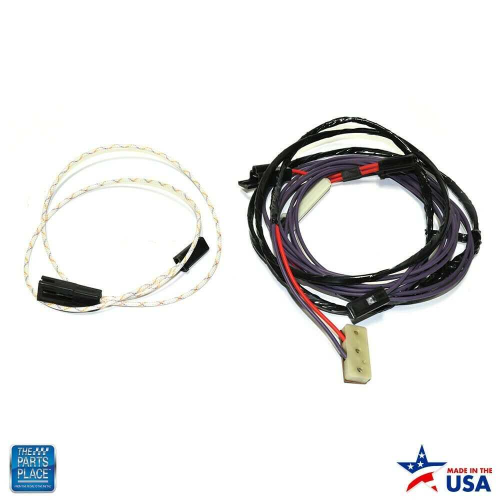 hight resolution of details about 1970 1972 monte carlo el camino chevelle rear window defroster harness